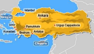 Carte Turquie Kusadasi.Cap Voyage A Kusadasi Turquie